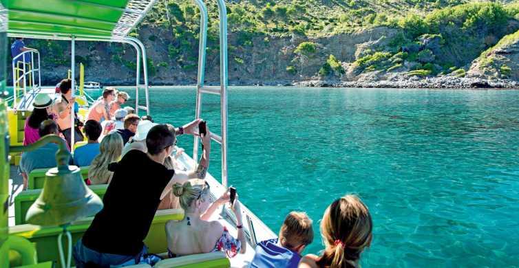 Mallorca: 3 uur varen langs de grotten aan de oostkust