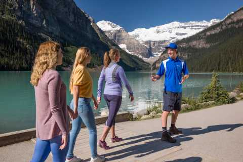 From Banff: Lake Louise and Moraine Lake Sightseeing Tour