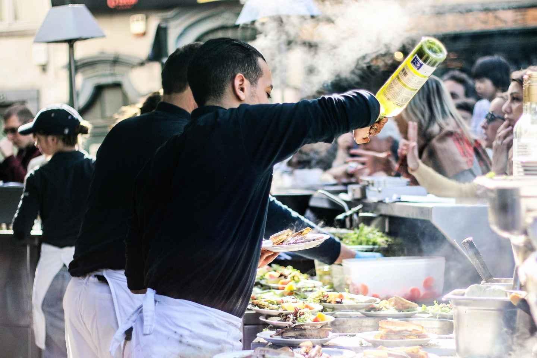 Brüssel: Express-Tour mit Mittagessen, Schokolade & Bier
