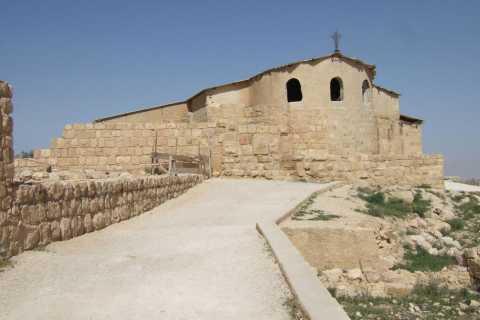 Depuis Amman: visite privée d'une journée à Madaba, au mont Nebo et à la mer Morte