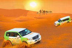 Dubai: Dunas Vermelhas, Churrasco, Camelo e Sandboarding