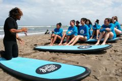 Canggu: lição de surf de 2 horas