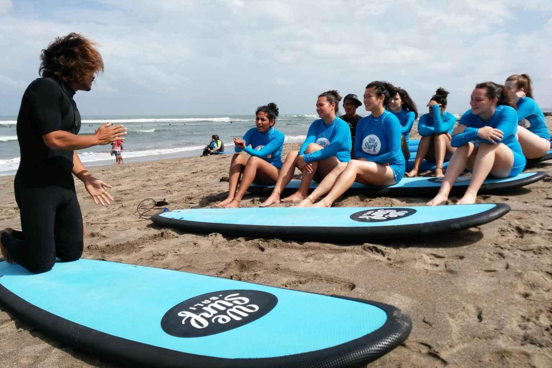 Canggu: Surfkurs