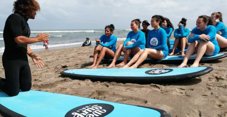 Canggu: 2-Hour Surf Lesson