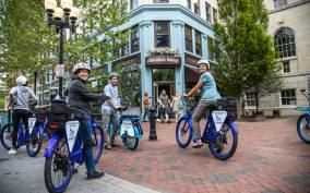 Asheville: 2.5-Hour City Electric Bike Tour with Views