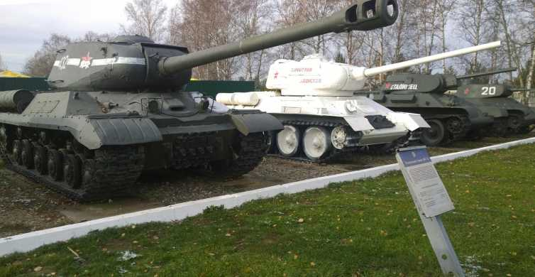 Private Tour: Kubinka Tank Museum Tour from Moscow