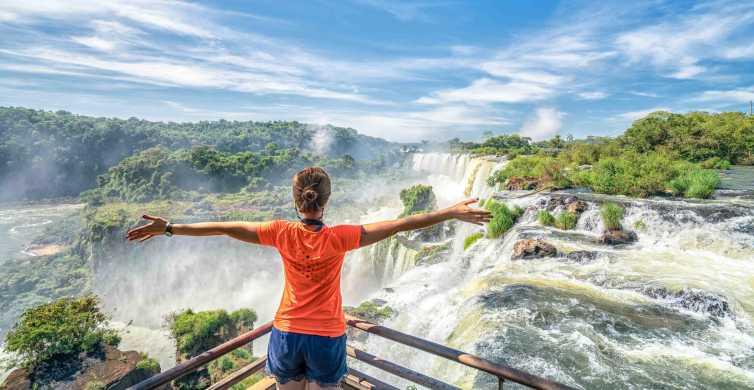 From Foz do Iguaçu: Brazilian Side of the Falls with Ticket