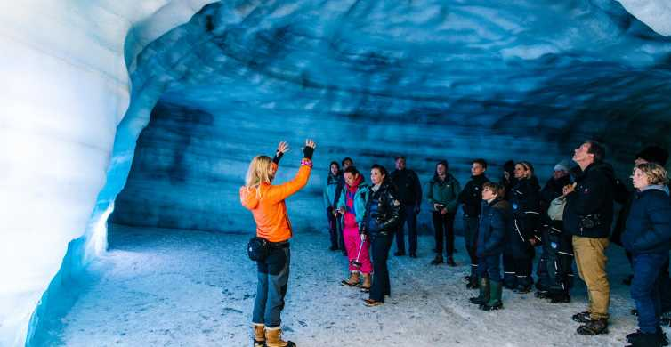 Reykjavik Ice Cave and Snowmobile Tour on Langjokull Glacier