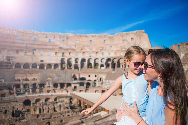 Ohne Anstehen: Rundgang durch das Kolosseum und das antike Rom
