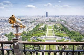Paris: Zugang Spitze oder Aussichtsebene 2 des Eiffelturms