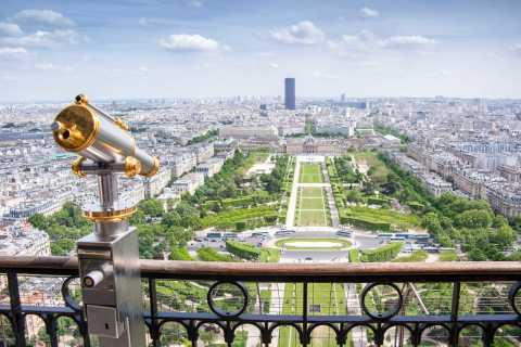 Paris: Eiffel Tower Summit or Second Floor Direct Access