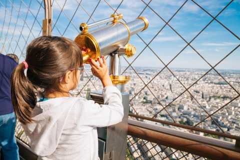 Paris: Eiffel Tower Summit Access with Tour