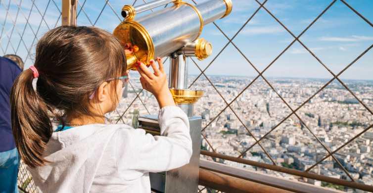 Paris: Eiffel Tower Summit Access with Tour