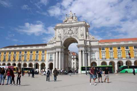 Lisbon: 3-Hour Walking City Tour & Augusta Arch Visit