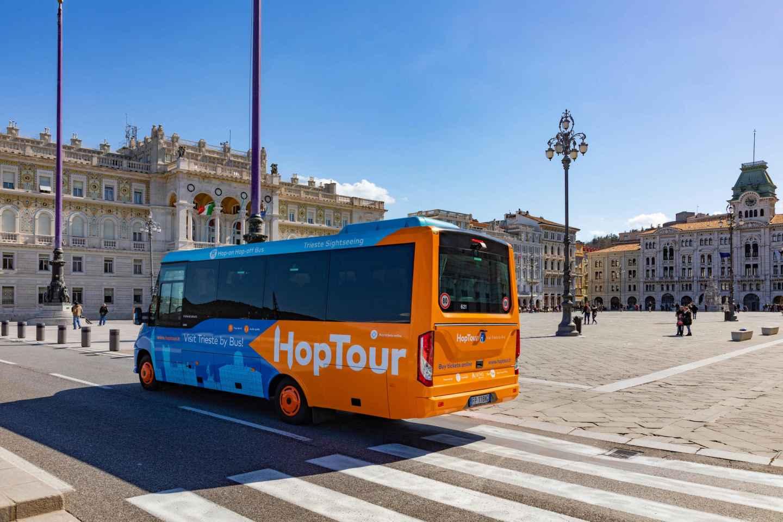Triest: Stadtrundfahrt per Bus mit Audioguide