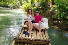 Jamaica: Bambu Rafting no Martha Brae