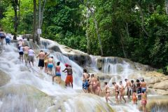 Jamaica: Excursão Cachoeiras do Rio Dunn e Passeio de Boia