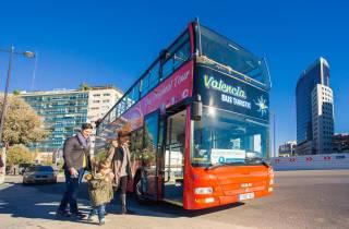 Valencia: Hop-On/Hop-Off-Bustour