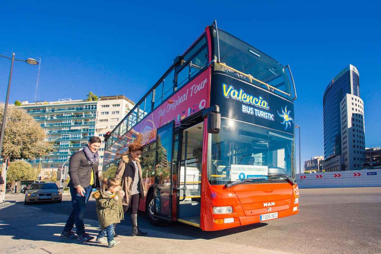 Valencia: 24- und 48-Stunden-Ticket Hop-On/Hop-Off-Bus