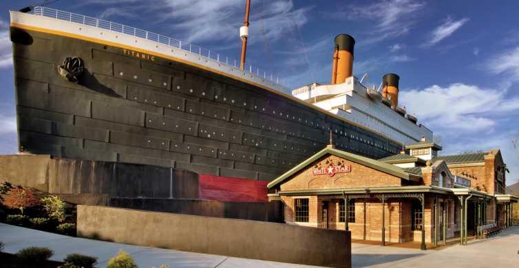 Pigeon Forge: ingresso para compra antecipada do Titanic Museum