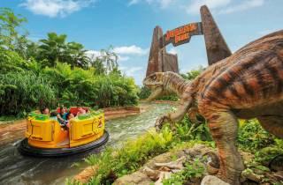Universal Studios Singapore: Ticket mit Hotelabholung