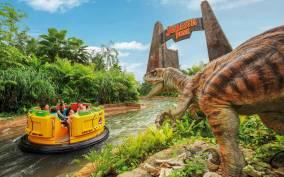 Universal Studios Singapore Ticket with Hotel Pickup