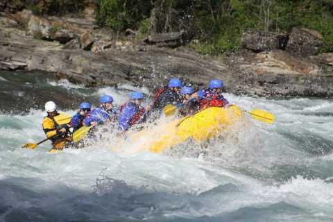 Banff: Morning Whitewater Rafting Tour in Horseshoe Canyon
