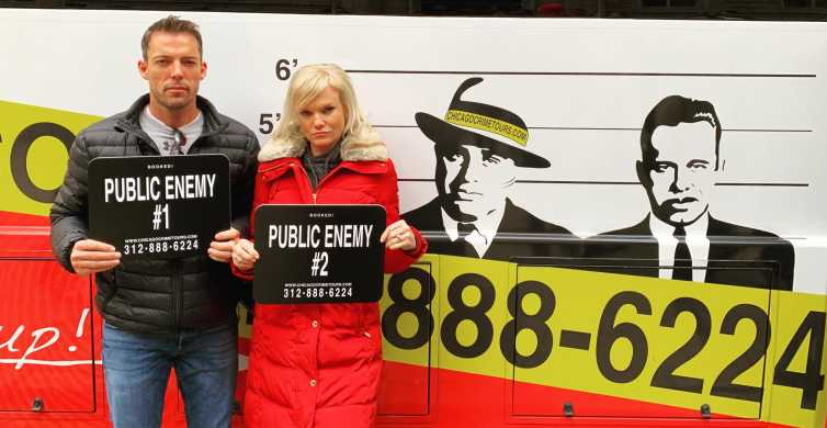 Chicago: 90-Minute Mob and Crime Bus Tour