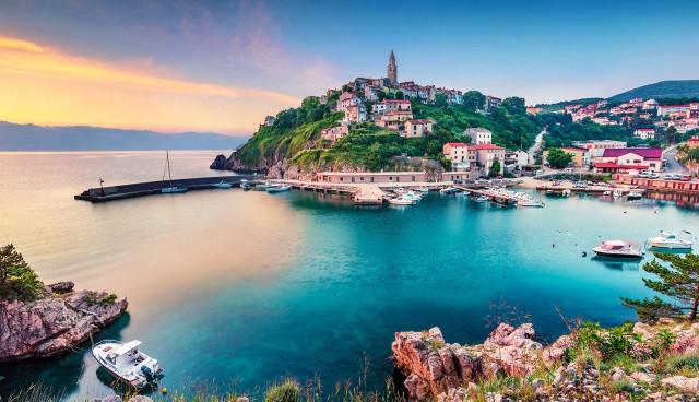 Vanuit Rijeka: rondreis over Krk, het Gouden Eiland