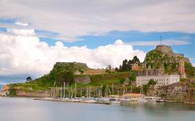 Corfu: Achilleion Palace, Mouse Island and Old Town Tour