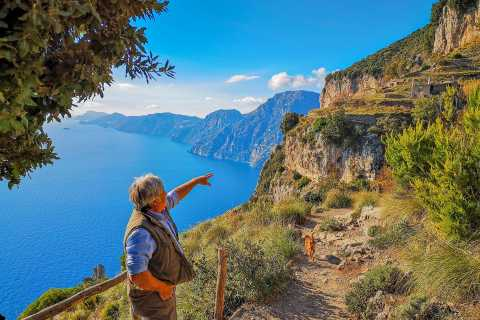 Amalfi Coast: Path of the Gods Private Walking Tour