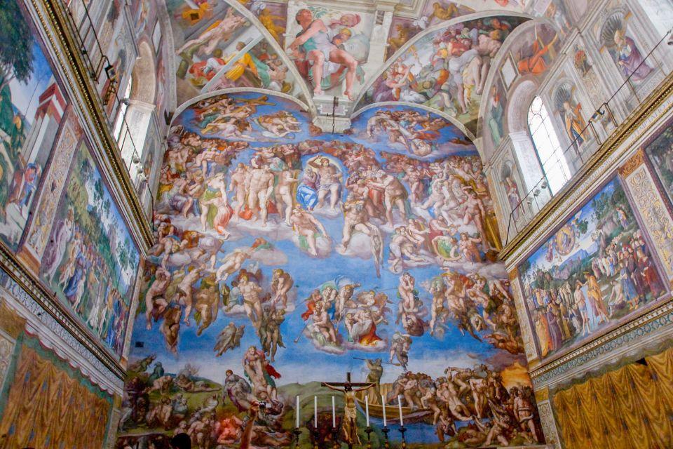 Kaplica Sykstyńska i Muzea Watykańskie - bilet bez kolejki