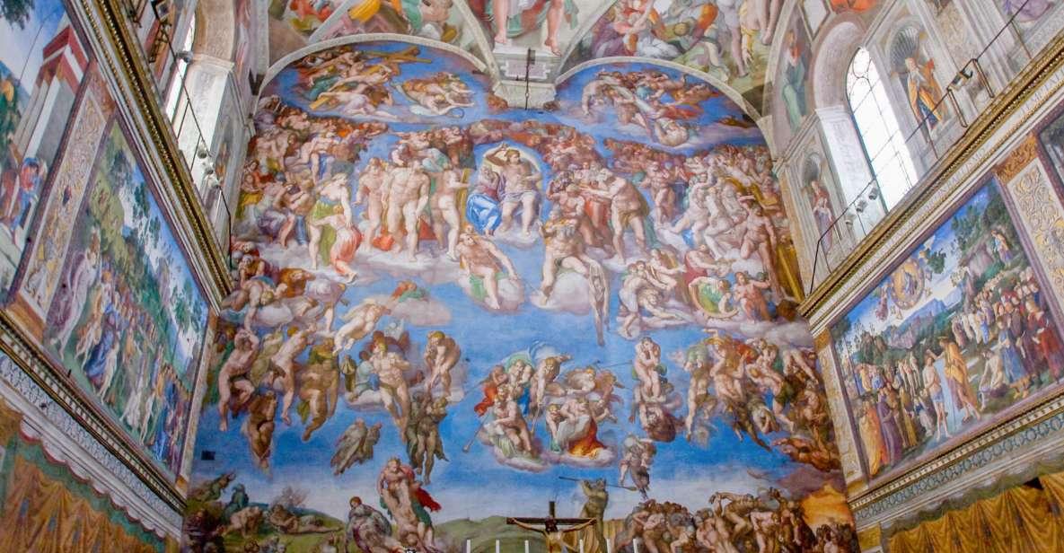 Vatikanmuseerna och Sixtinska kapellet: Inträdesbiljett
