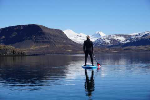 From Reykjavík: Forgotten Fjords Stand Up Paddleboard Tour