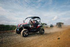Aruba: Piscina Natural e Parque Nacional de Arikok pela UTV