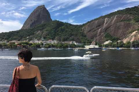 Río desde el mar: crucero bahía de Guanabara con almuerzo