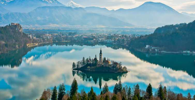 Depuis Zagreb: Ljubjana et lac de Bled