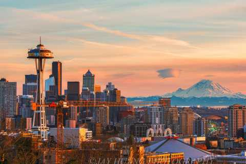 Seattle: Mount Rainier Park All-Inclusive Small Group Tour