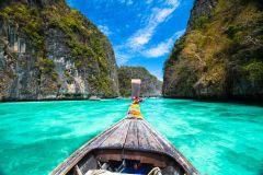 Ilhas Phi Phi: Excursão c/ Snorkel e Desembarque em Ilhas