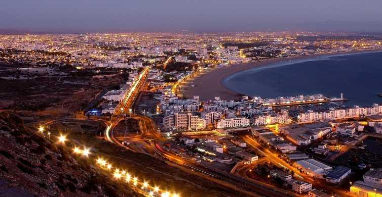 Tour pela cidade de Agadir à noite