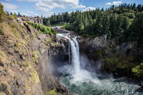 From Seattle: Snoqualmie Falls & Woodinville Wine Tasting