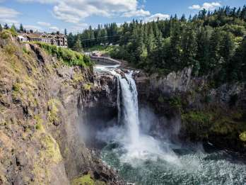 Ab Seattle: Snoqualmie Falls & Weinverkostung in Woodinville