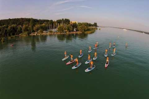 Lake Balaton: Paddle Board Tour of Tihany National Park