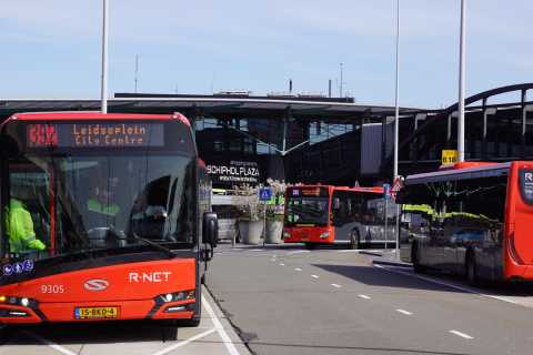 Amsterdam Airport Express: Return Trip to the City Center