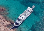 Ab Palau: Ganztägige Bootsfahrt zum La-Maddalena-Archipel