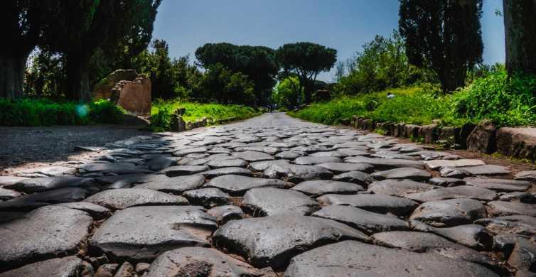 Rome: visite des catacombes et de la Voie Appienne