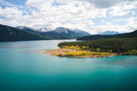 Montanhas Rochosas canadenses: voo de helicóptero com caminhada de exploração