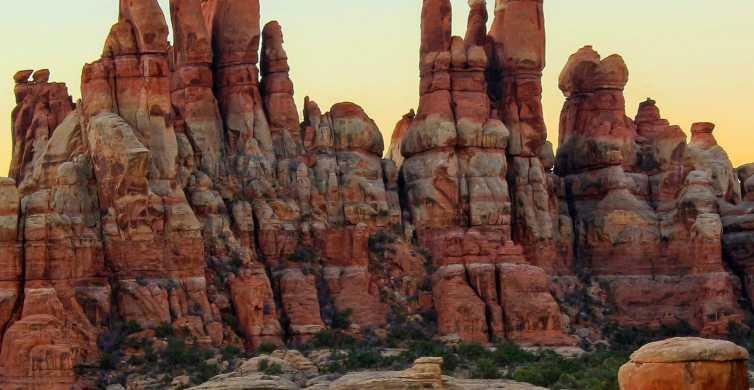 从摩押:Canyonlands针区4x4之旅