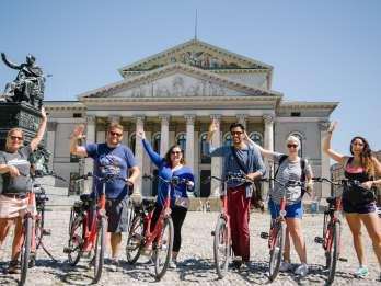 München: Erkundungstour per Fahrrad