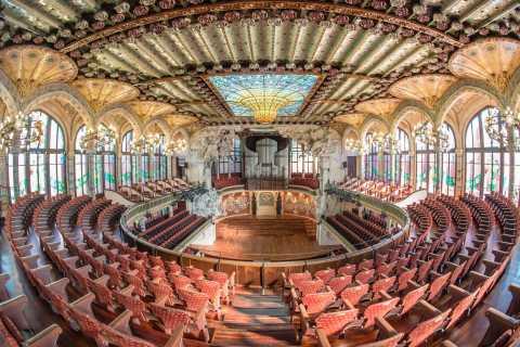 Barcelona: Tour Palácio da Música Catalã sem Guia
